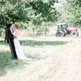 Hochzeitsfotos Natur Kirschbaum